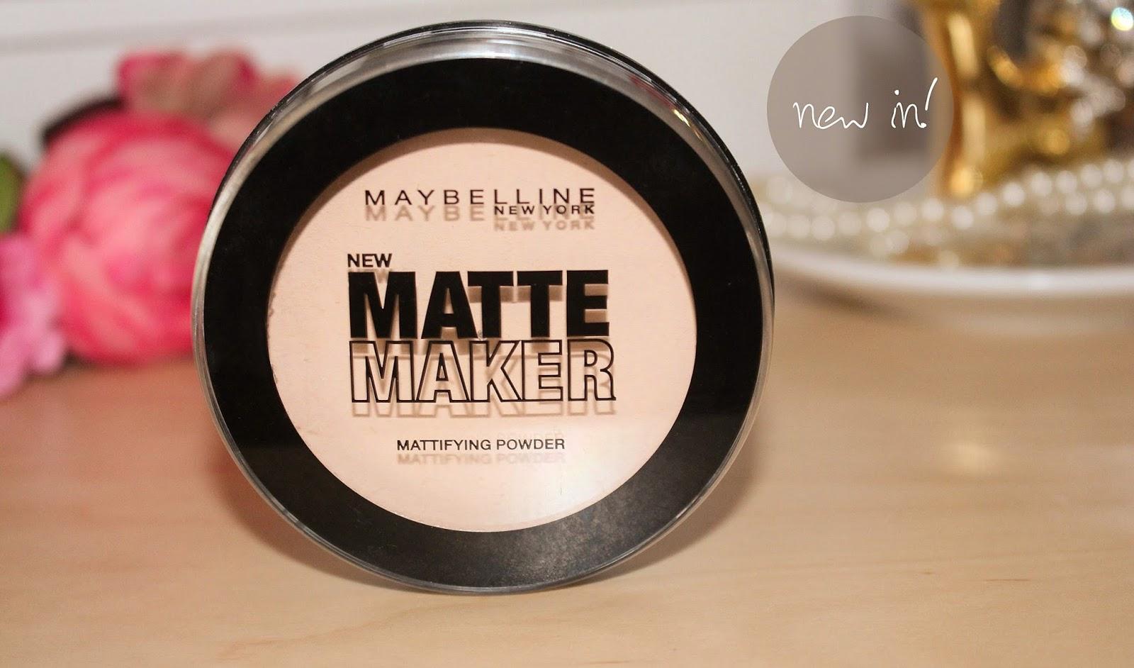 Poudre Matte Maker Nude Beige   MAYBELLINE   SAGA Cosmetics